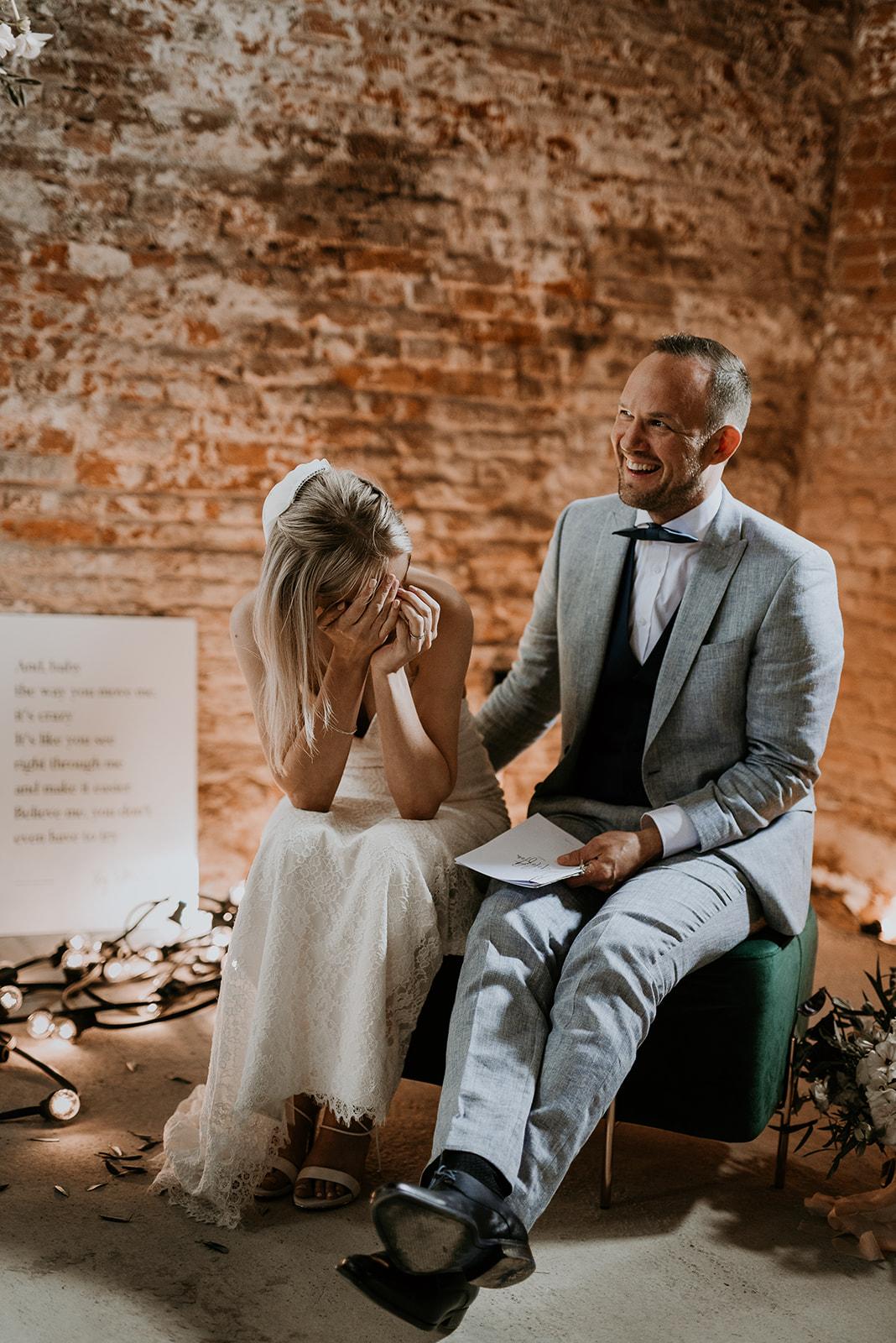 Ruben en Evi persoonlijke authentieke ceremonie