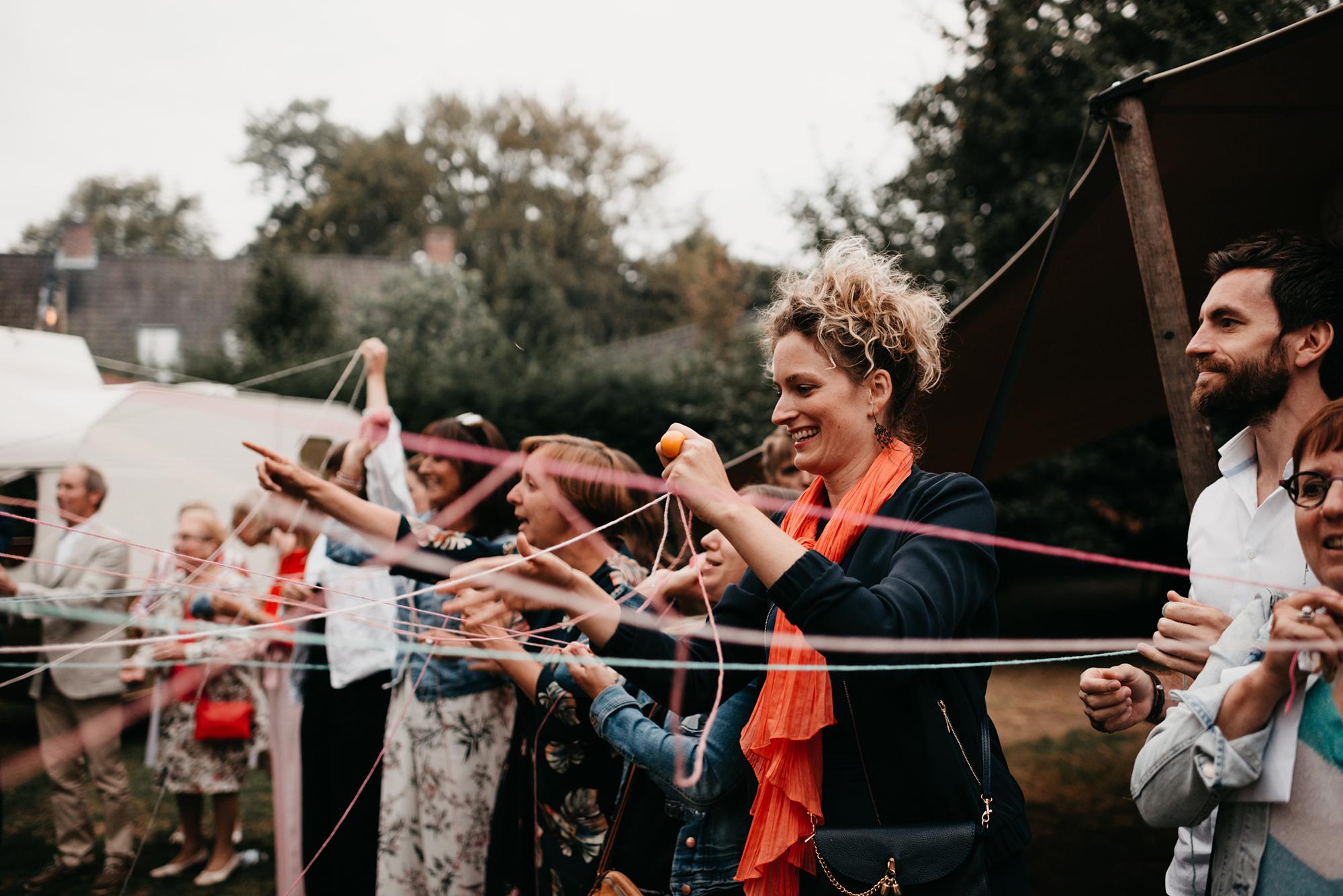 persoonlijke ceremonie interactief ritueel met gasten wolritueel plezierr